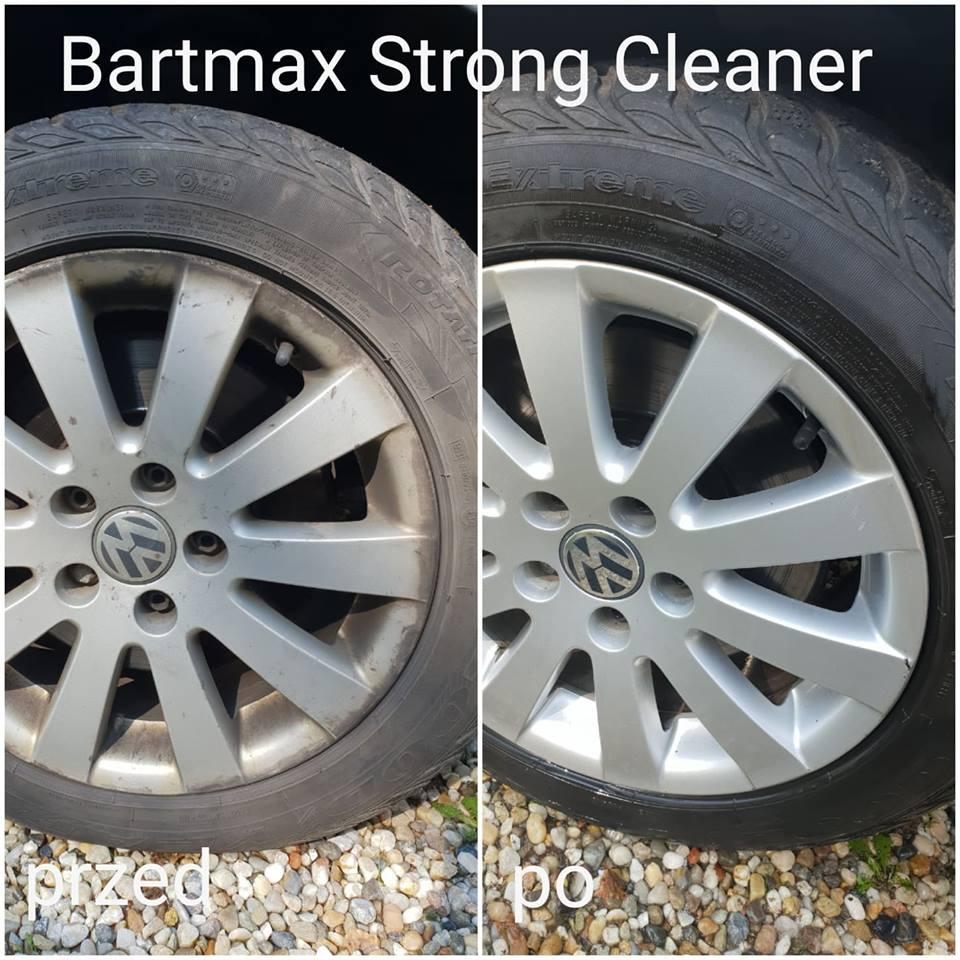 Czyszczenie Felg Aluminiowych Preparatem Strong Cleaner Bartmax
