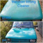Mycie lakieru Bartmax Strong Cleaner oraz nakładanie AntyGraffiti (powłoka ochronna)