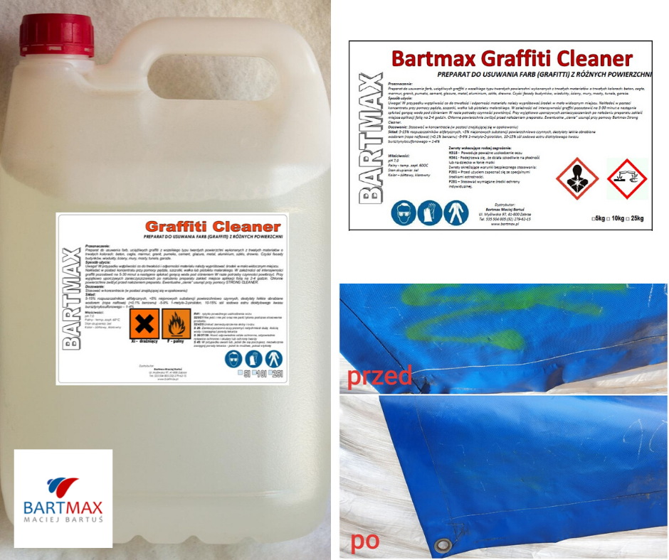 Bartmax graffiti cleaner
