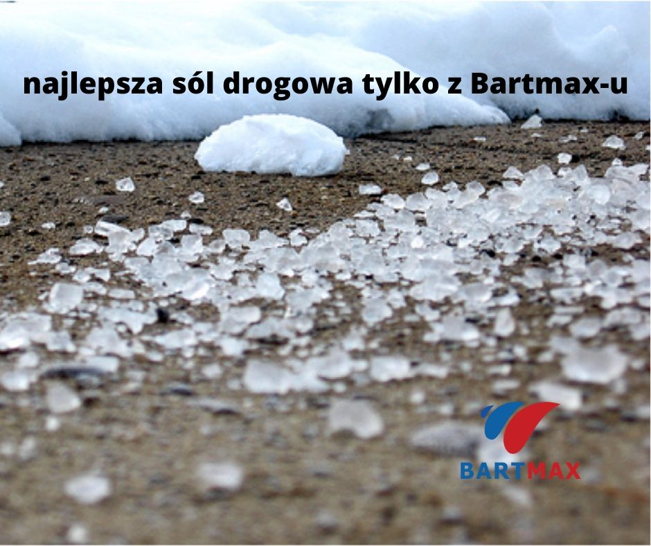 najlepsza sól drogowa tylko z Bartmax-u
