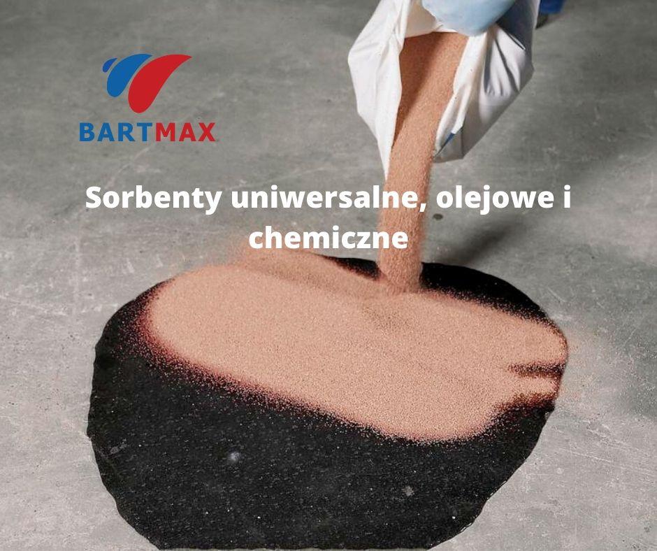 Sorbenty uniwersalne, olejowe i chemiczne