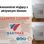 cleantex cleaner – koncentrat myjący z aktywnym tlenem