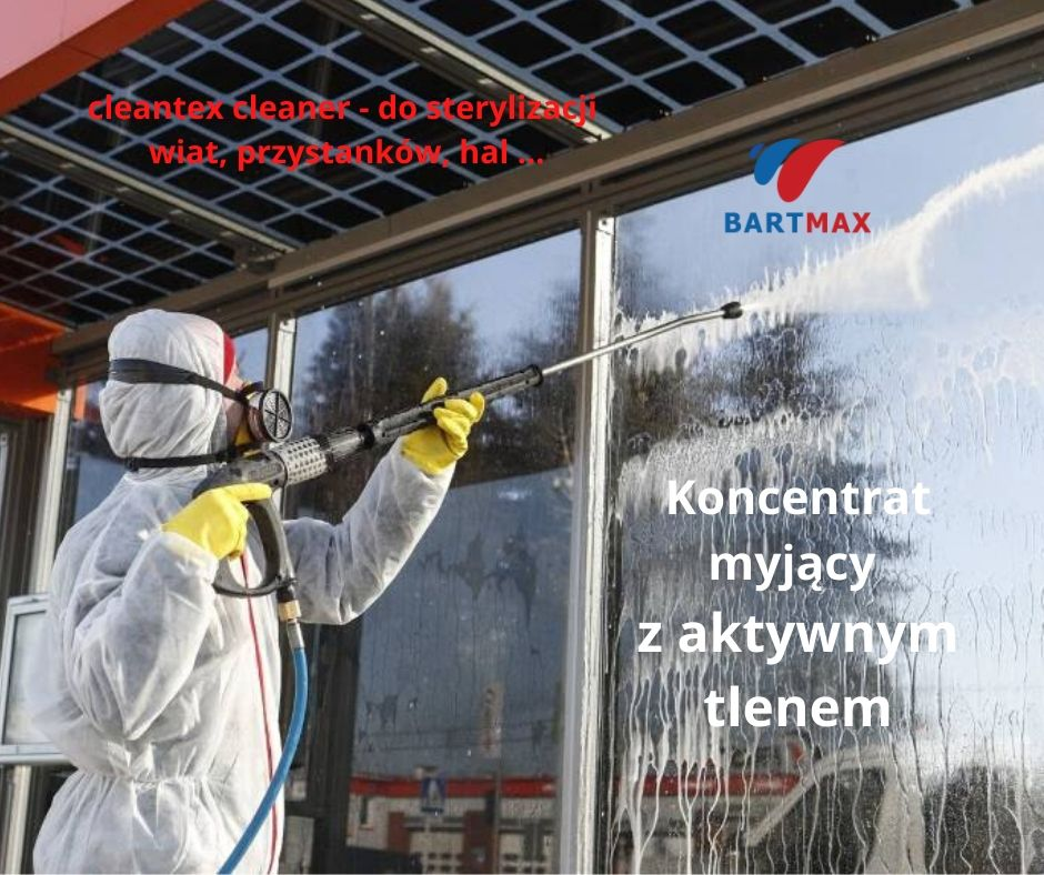 cleantex cleaner - do sterylizacji wiat, przystanków, hal ...